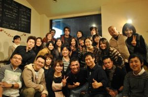 With amazing people, 2010