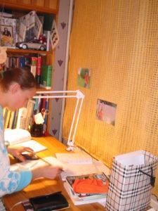 彼女自身も自分の勉強で忙しいのに、合間を縫って教えてくれたのです。。。