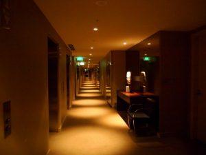ホテルですかここは。